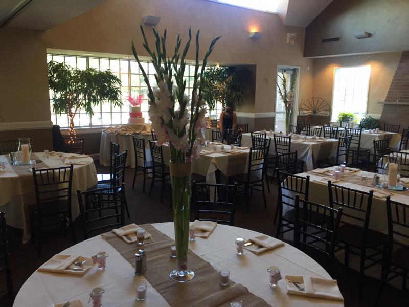 Beautiful Banquet room setup