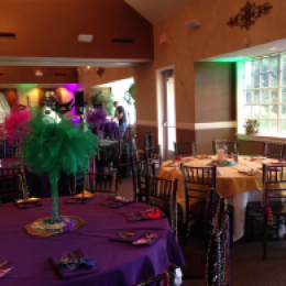 Mardi Gras in the Brazos Room