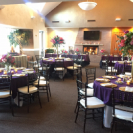 Example banquet room settings 5