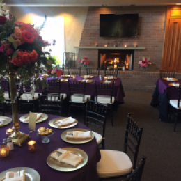 Example banquet room settings 2